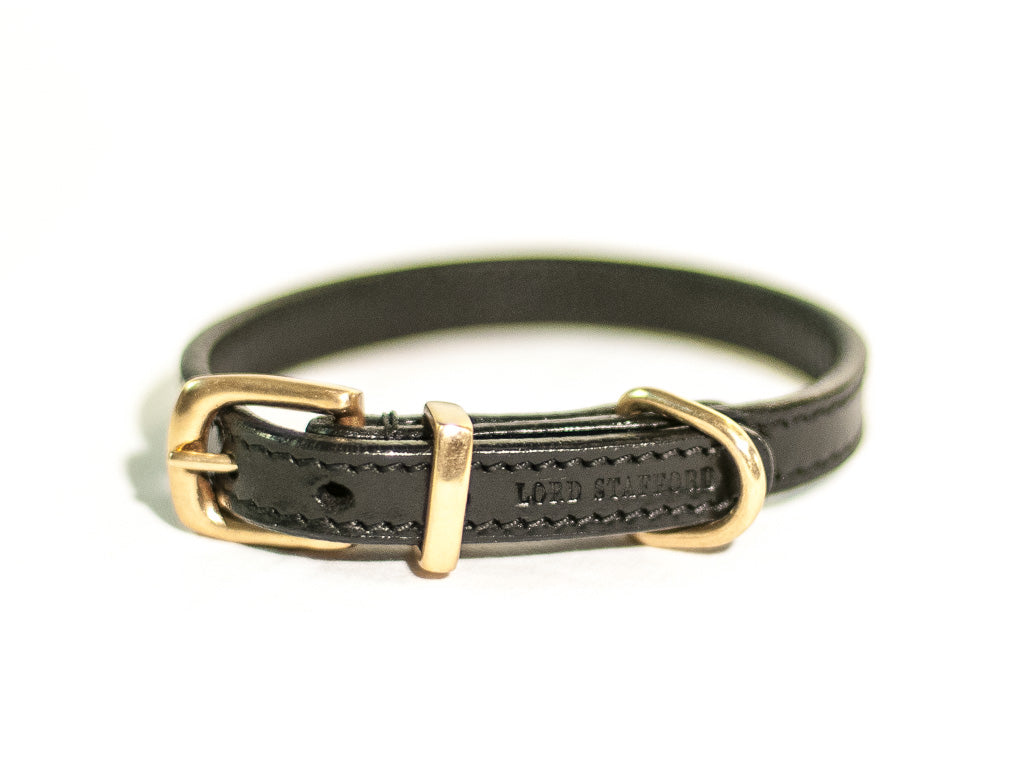 CLASSIC black cat collar