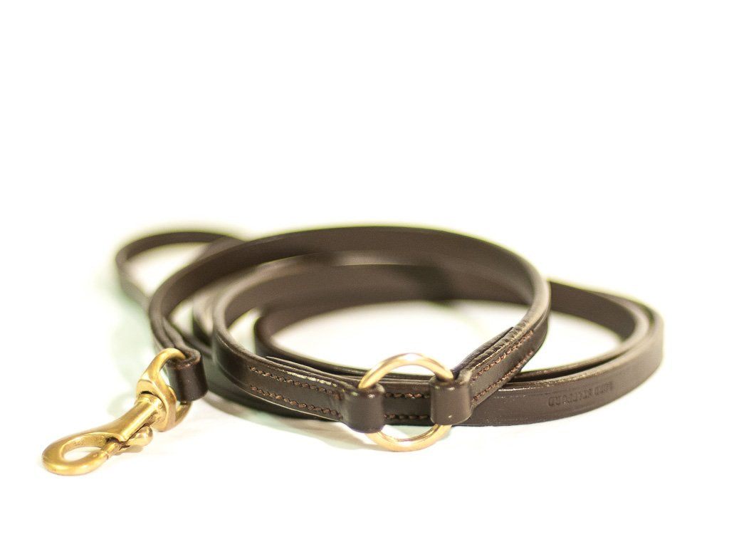 TIMELESS brown dog lead