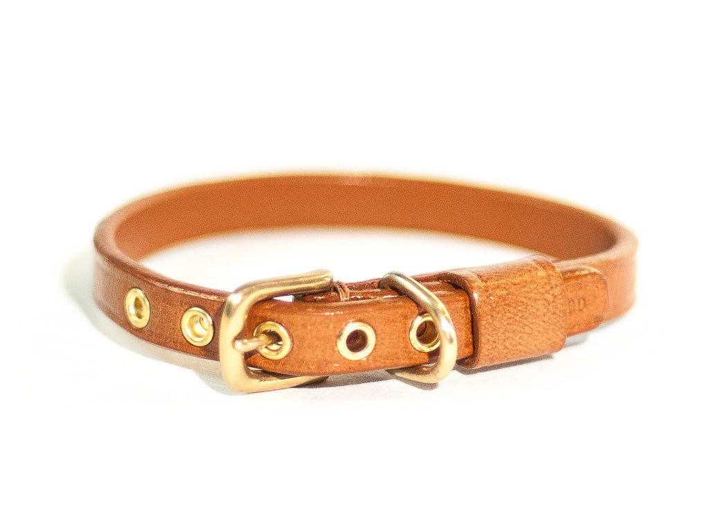 TIMELESS lightbrown cat collar