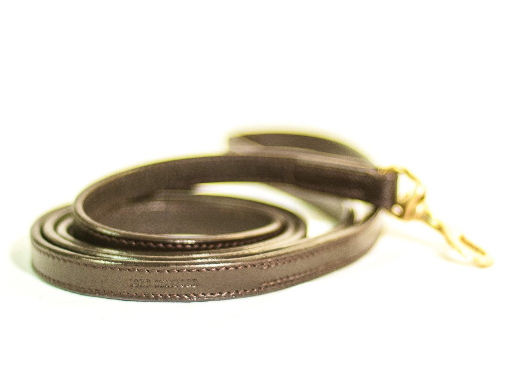 CLASSIC brown dog lead