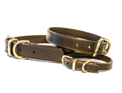 CLASSIC brown dog collar