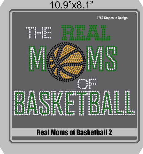 Real Moms of Baskeball 2 ,TTF Rhinestone Fonts & Rhinestone Designs
