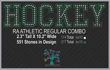 RA AthleticRegCombo (new) ,TTF Rhinestone Fonts & Rhinestone Designs