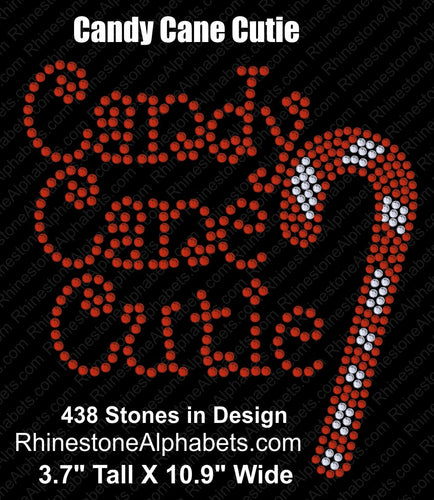 Candy Cane Cutie ...  Coming Soon! ,TTF Rhinestone Fonts & Rhinestone Designs