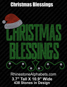 Christmas Blessings  Coming Soon! ,TTF Rhinestone Fonts & Rhinestone Designs