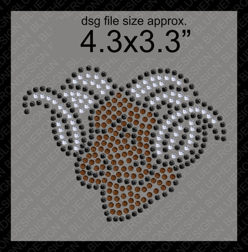 Tiny Rams DSG File ,TTF Rhinestone Fonts & Rhinestone Designs