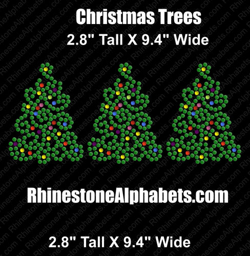 Christmas Trees... ,TTF Rhinestone Fonts & Rhinestone Designs