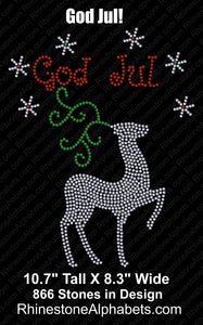 God Jul ,TTF Rhinestone Fonts & Rhinestone Designs