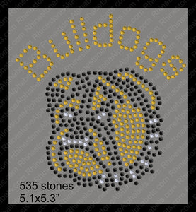 Tiny Bulldogs ,TTF Rhinestone Fonts & Rhinestone Designs
