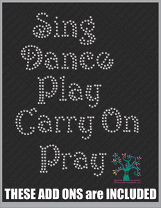 Keep Calm Style 6 ,TTF Rhinestone Fonts & Rhinestone Designs