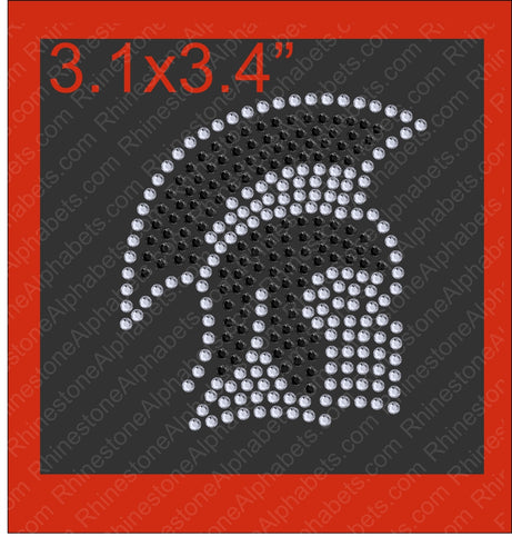 Tiny Spartans2 ,TTF Rhinestone Fonts & Rhinestone Designs