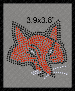 Tiny Fox1 DSG File ,TTF Rhinestone Fonts & Rhinestone Designs