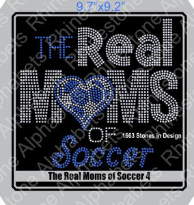 Real Moms of Soccer 4 ,TTF Rhinestone Fonts & Rhinestone Designs