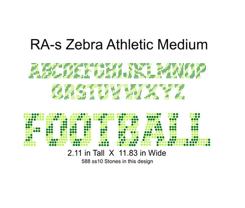 RA ZebraAthleticMedium