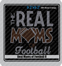 Real Moms of Football Combo Pack ,TTF Rhinestone Fonts & Rhinestone Designs