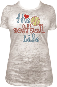 Love the Softball Life ,TTF Rhinestone Fonts & Rhinestone Designs