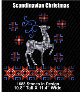Scandinavian Winter ,TTF Rhinestone Fonts & Rhinestone Designs