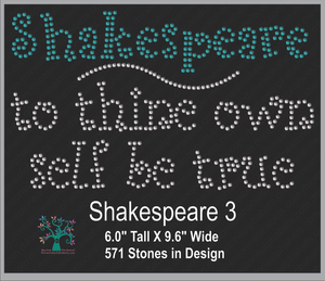 Shakespeare 3 ,TTF Rhinestone Fonts & Rhinestone Designs