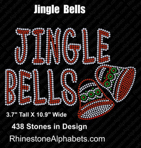 Jingle Bells ,TTF Rhinestone Fonts & Rhinestone Designs