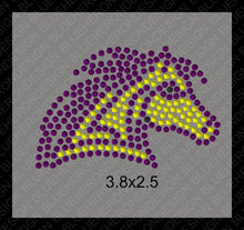Tiny Mustangs ,TTF Rhinestone Fonts & Rhinestone Designs