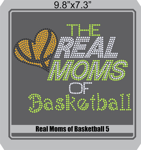 Real Moms of Baskeball 5 ,TTF Rhinestone Fonts & Rhinestone Designs