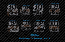 Real Moms of Football Combo Pack DSG files ,TTF Rhinestone Fonts & Rhinestone Designs