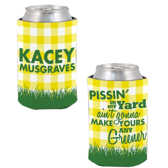 PISSIN' IN MY YARD KOOZIE