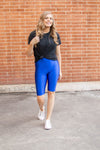 Bermuda Leggings | Royal Blue