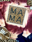 Mama Leopard Bleached Hoodies