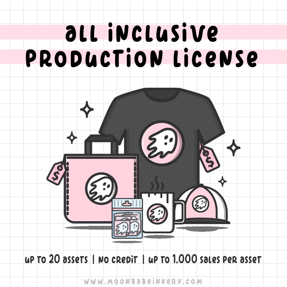 'All Inclusive' Commercial Production License