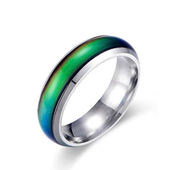 Color Changing Mood Ring (Silver) - Ello Elli Online Store