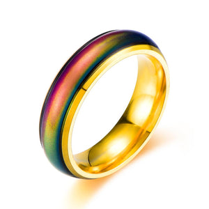 Color Changing Mood Ring (Gold) - Ello Elli Online Store