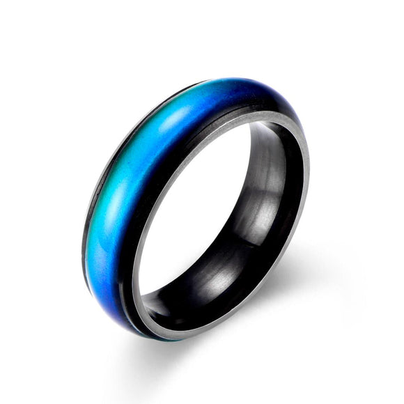 Color Changing Mood Ring (Black) - Ello Elli Online Store