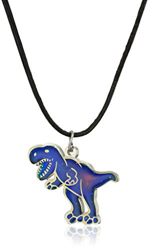 Color Changing T-Rex Mood Necklace