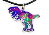 Color Changing T-Rex Mood Necklace - Ello Elli Online Store