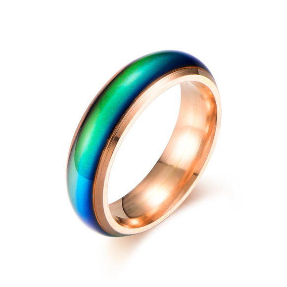 Color Changing Mood Ring (Rose Gold) - Ello Elli Online Store