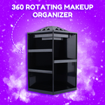 360° Japanese Style Rotating Makeup Organizer