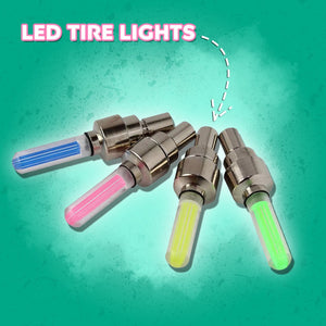 LED Tire Valve Lights