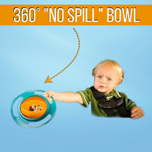 "360° Baby/Toddler ""No Spill"" Bowl"