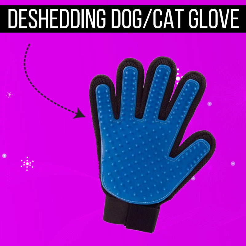 Pet Grooming Deshedding Glove