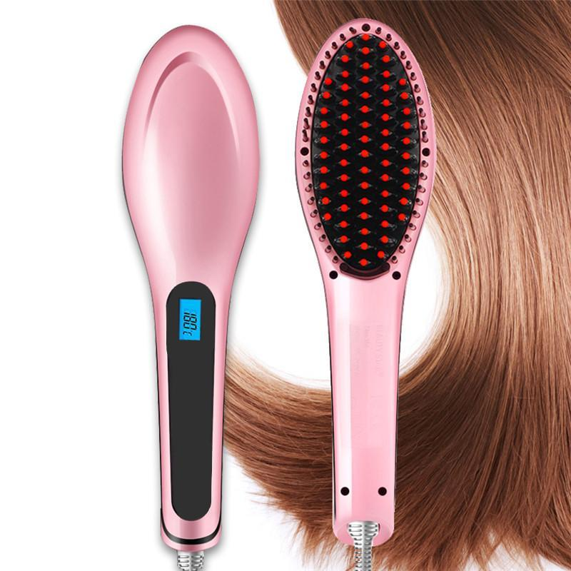 Silky Hair Straightening Brush