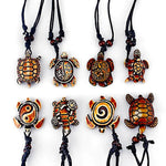 8pcs Ethnic Tribal Sea Turtle Pendants