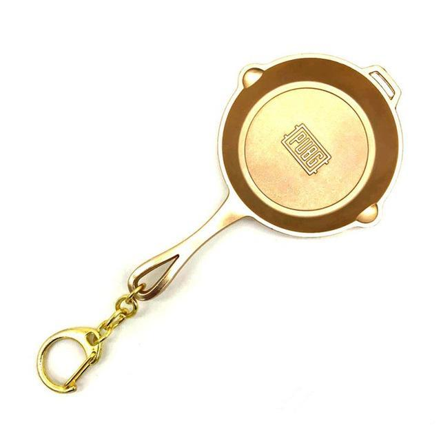 PUBG Pan Weapon Key Chain