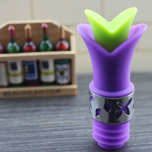 Lilly Flower Bottle Stopper