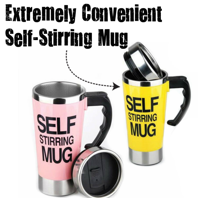 The Self Stirring Mug