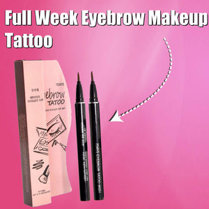 Full Week Eyebrow Makeup Tattoo