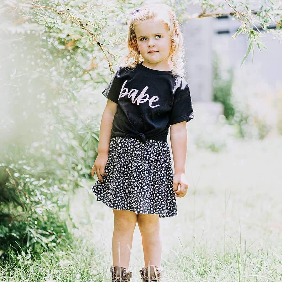 Load image into Gallery viewer, Babe Toddler Tee