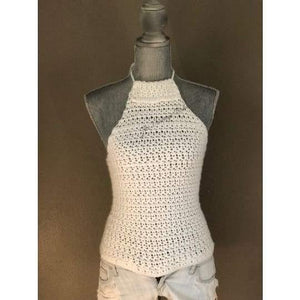 Crochet Halter Top - The Vintage Bohemian