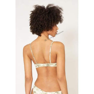 Load image into Gallery viewer, Boys + Arrows Don't Trip Skip Bikini Top - The Vintage Bohemian