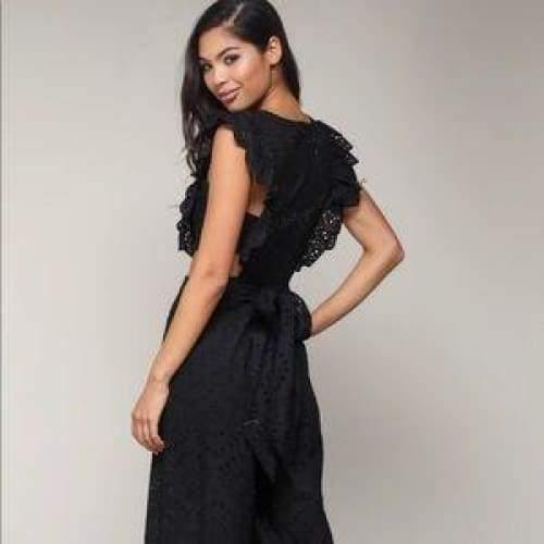 Cut Out Jumpsuit - The Vintage Bohemian